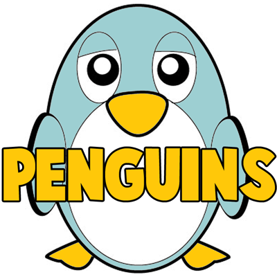 How to Draw Cartoon Penguins with Easy Step by Step Drawing Tutorial