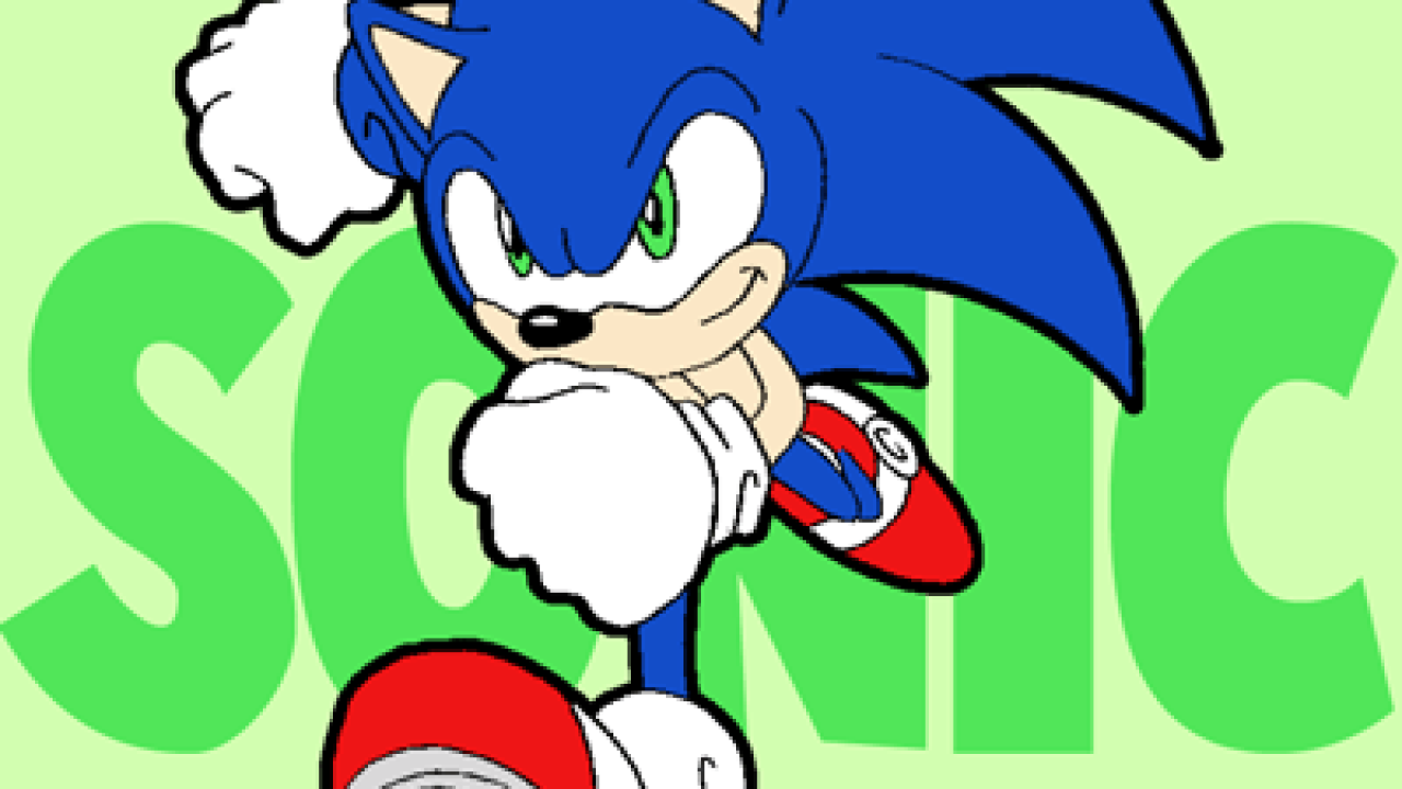 How To Draw Sonic The Hedgehog Running Drawing Lesson How To Draw Step By Step Drawing Tutorials