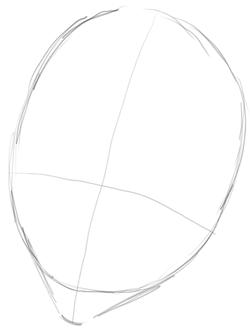 Step 1 Drawing Uryu Ishida from Bleach in Easy Steps Tutorial