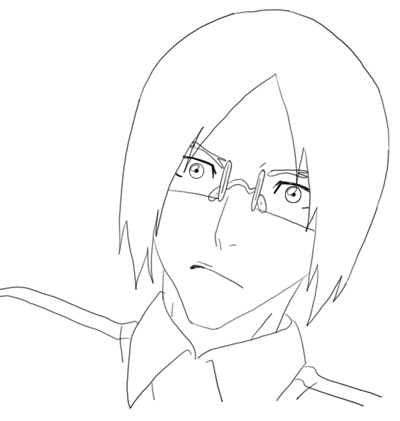 How to Draw Uryū Ishida from Bleach Step by Step Drawing Lesson