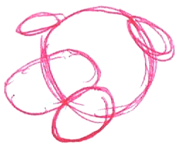 Step 2 : Drawing Martha the Cartoon Dog Step by Step Tutorial