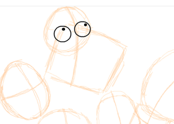 Step 2 : Drawing American Dad Family Step by Step Lesson