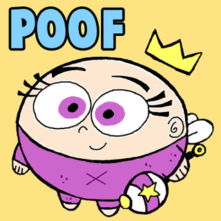 How to Add Poof Baby from Fairly Odd Parents Drawing Tutorial