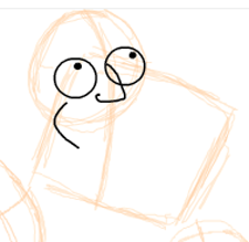 Step 3 : Drawing American Dad Family Step by Step Lesson