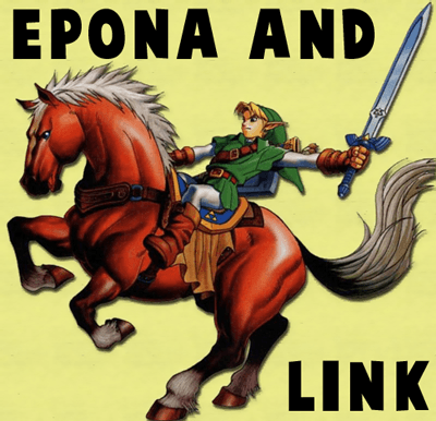 How to Draw Epona and Link from The Legend of Zelda in Illustrated Steps