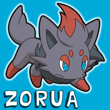 How to Draw Zorua from Pokemon in Easy Step by Step Drawing Tutorial