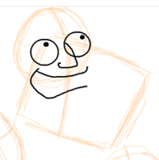 Step 4 : Drawing American Dad Family Step by Step Lesson