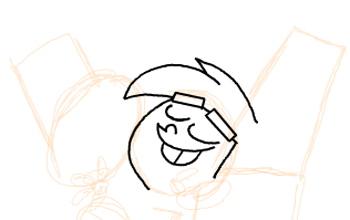 Step 6 : Drawing Timmy Turners Parents Step by Step Drawing Tutorial