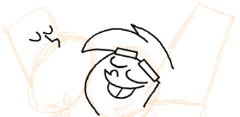 Step 7 : Drawing Timmy Turners Parents Step by Step Drawing Tutorial