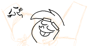 Step 8 : Drawing Timmy Turners Parents Step by Step Drawing Tutorial