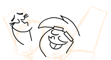 Step 9 : Drawing Timmy Turners Parents Step by Step Drawing Tutorial