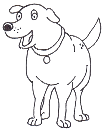 How to Draw Martha the Dog from Martha Speaks in Easy Step by Step Drawing Tutorial for Kids