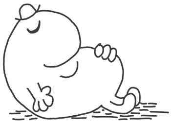 How to Draw Mr. Lazy from Mr. Men in Easy Steps Lesson