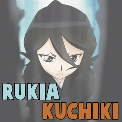How to Draw Rukia Kuchiki from Bleach Step by Step Drawing Tutorial