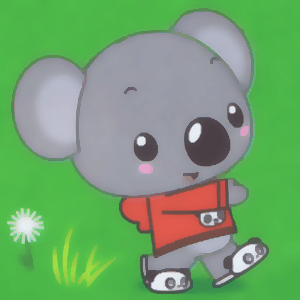 How to Draw Tolee Koala Bear from KaiLan in Simple Step by Step Lesson for Kids
