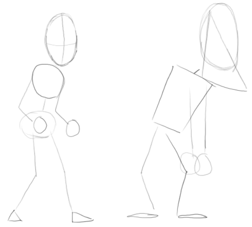 Step 1 : Drawing Fly Guy Characters from MiniClip.com Lesson