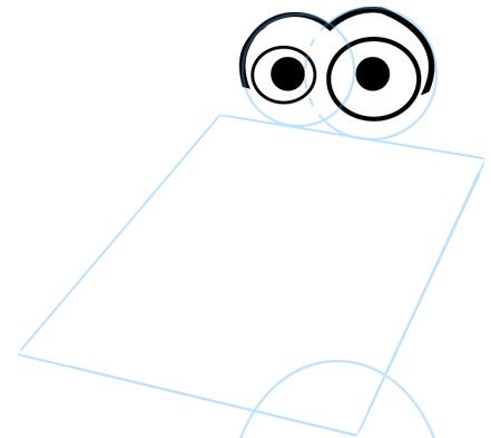 Step 2 : Drawing Cartoon Alligators & Crocs Step by Step Lesson