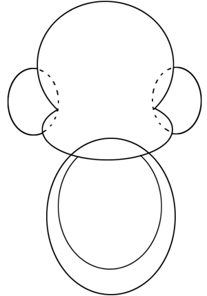 Step 2 : Drawing Cartoon Baby Monkeys in Easy Steps