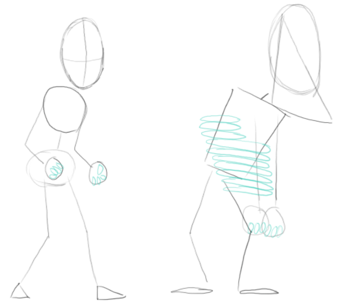 Step 2 : Drawing Fly Guy Characters from MiniClip.com Lesson