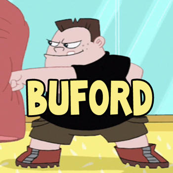 How to Draw Buford the Bully from Phineas and Ferb Drawing Lesson