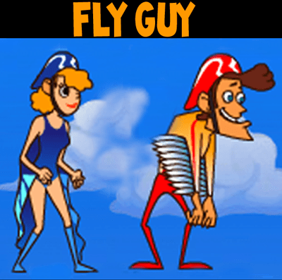 How to Draw Fly Guy Characters from MiniClip.com Drawing Tutorial