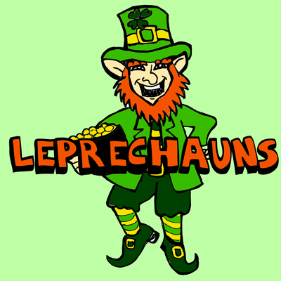 Drawing Leprechauns with Simple Illustrated Steps Tutorial