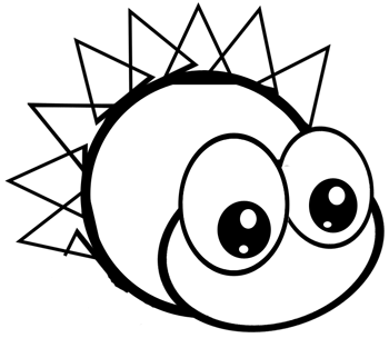 Step 4 : Drawing Hedgehogs in Easy Steps Lesson