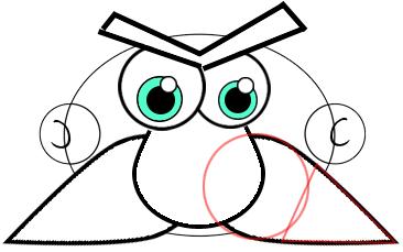 Step 4 : Drawing Cartoon Kings Easy Steps Tutorial