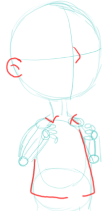 Step 4 : Drawing Steve Smith Step by Step Lesson