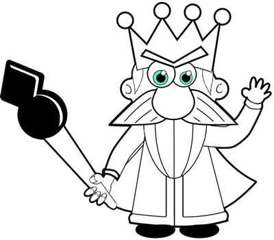 How to Draw a Cartoon King Step by Step Drawing Tutorial
