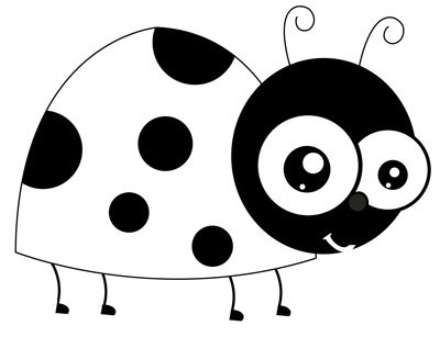 How To Draw Cartoon Ladybugs In Easy Step By Step Drawing Tutorial