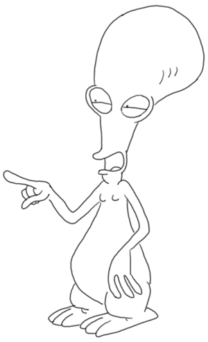 Roger Smith American Dad Face