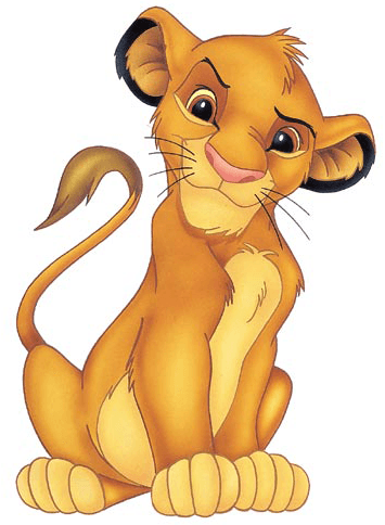 How to Draw Simba from Lion King Step by Step Drawing Tutorial
