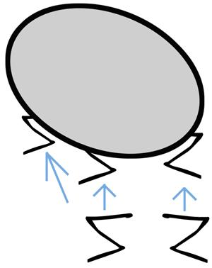 Step 1 : Drawing Cartoon Flies in Easy Steps