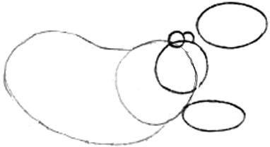 Step 2 : Drawing Cartoon Hippos