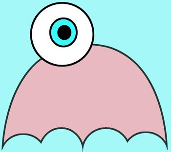Step 3 : Drawing Cartoon Jellyfish Lesson