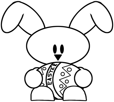 Step 5 : Drawing Easter Bunny Lesson for Children