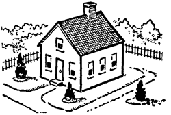 How to draw houses step by step drawing tutorial with this for House drawing easy