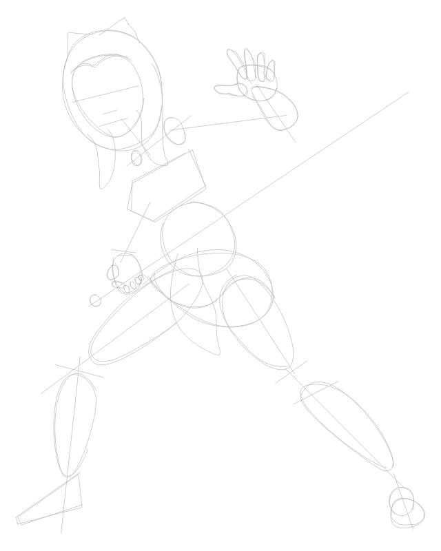 Step 1 : Drawing Ahsoka Tano from The Clone Wars Tutorial