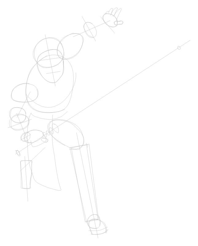 Step 1 : Drawing Obi-Wan Kenobi from The Clone Wars Tutorial