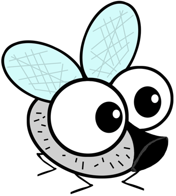 How to Draw Cartoon Flies with a Fly Drawing Tutorial