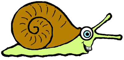 How to Draw Cartoon Snails with Easy Steps Drawing Tutorial
