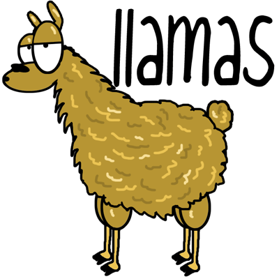 How to Draw Cartoon Llamas with Easy Step by Step Drawing Tutorial