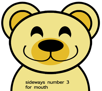 Step 4 : Drawing Cartoon Bears in Easy Steps Lesson