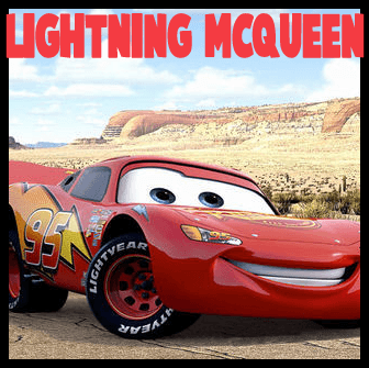 How to Draw Lightning McQueen from Disney Cars Movie Lesson