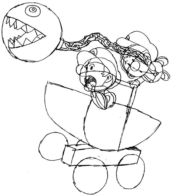 baby mario and luigi coloring pages - Google Search | Mario ... | 684x600