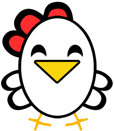 Easiest Chicken or Rooster to Draw Ever - Great for Preschoolers & Young Kids