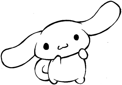 Step 8 : Drawing Cinnamoroll in Easy Steps Tutorial