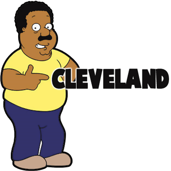 How to Draw Cleveland from Family Guy Step by Step Tutorial