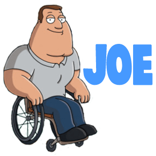 How to Draw Joe Swanson from Family Guy with Easy to Follow Steps
